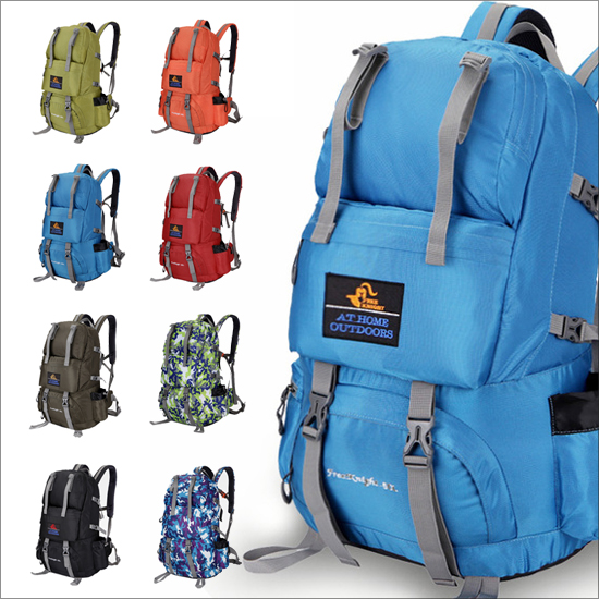 ?MY COLOR?多功能戶外登山包 後背包 旅行 健身 運動 防水 耐磨 大容量 舒適 男女 50L【B68】