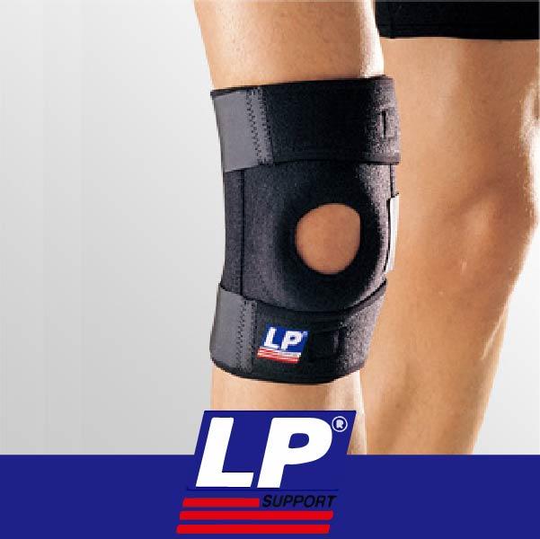 萬特戶外運動 LP護具 733 雙彈簧支撐型膝關節護具 支撐 保暖 黑色