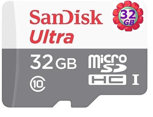 SanDisk 32GB 32G microSDHC【48MB/s】Ultra microSD micro SD SDHC UHS UHS-I Class 10 C10 原廠包裝 記憶卡 手機記憶卡