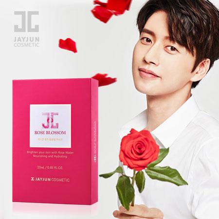 韓國 JAYJUN 紅玫瑰水光針面膜 25mlx10 (一盒10片) 玫瑰面膜 水光面膜 Rose Blossom Mask【B062146】
