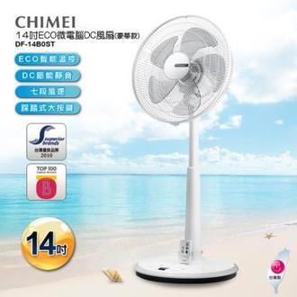 CHIMEI 奇美 14吋 5葉片 微電腦豪華款智能溫控DC節能風扇 DF-14B0ST 電風扇 公司貨