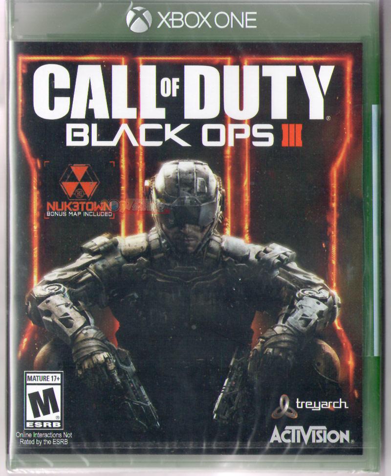 XBOX ONE 決勝時刻:黑色行動3(含地圖特典) -中英文亞版- COD Black OPS 3 Call of Duty X1