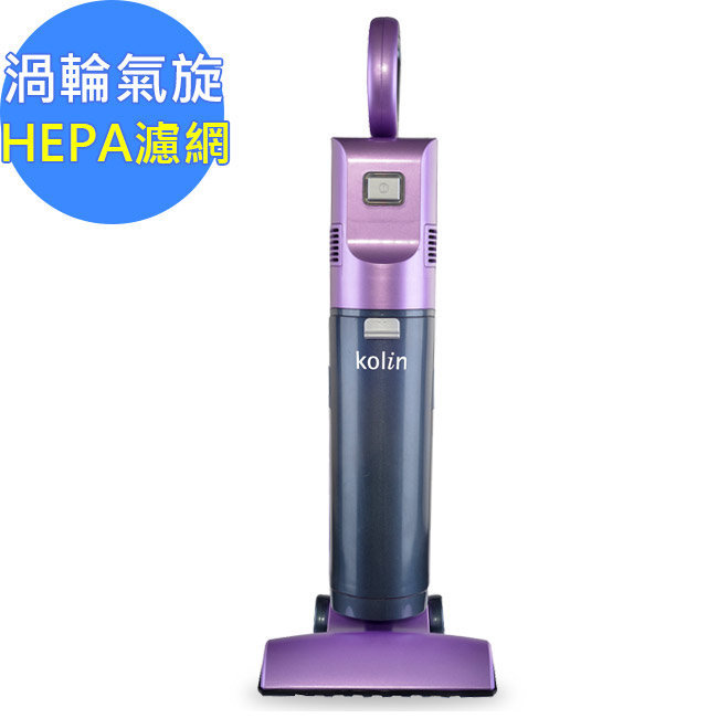 ★水洗式HEPA濾網★【歌林】HEPA強力渦輪氣旋 風塵分離式直立吸塵器(TC-SJ001S)