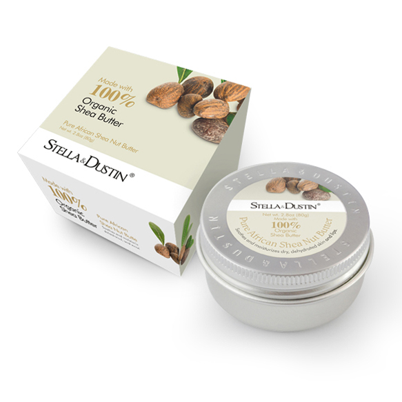 【STELLA & DUSTIN】 Shea butter 100%天然乳木果油