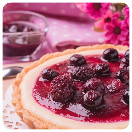【誰?乳酪】母親節蛋糕/莓果起司派6吋 >濃濃的起司香搭配莓果的酸甜、手工派皮的酥脆,多層次的口感讓妳感到滿滿的幸福!!/可素食蛋糕