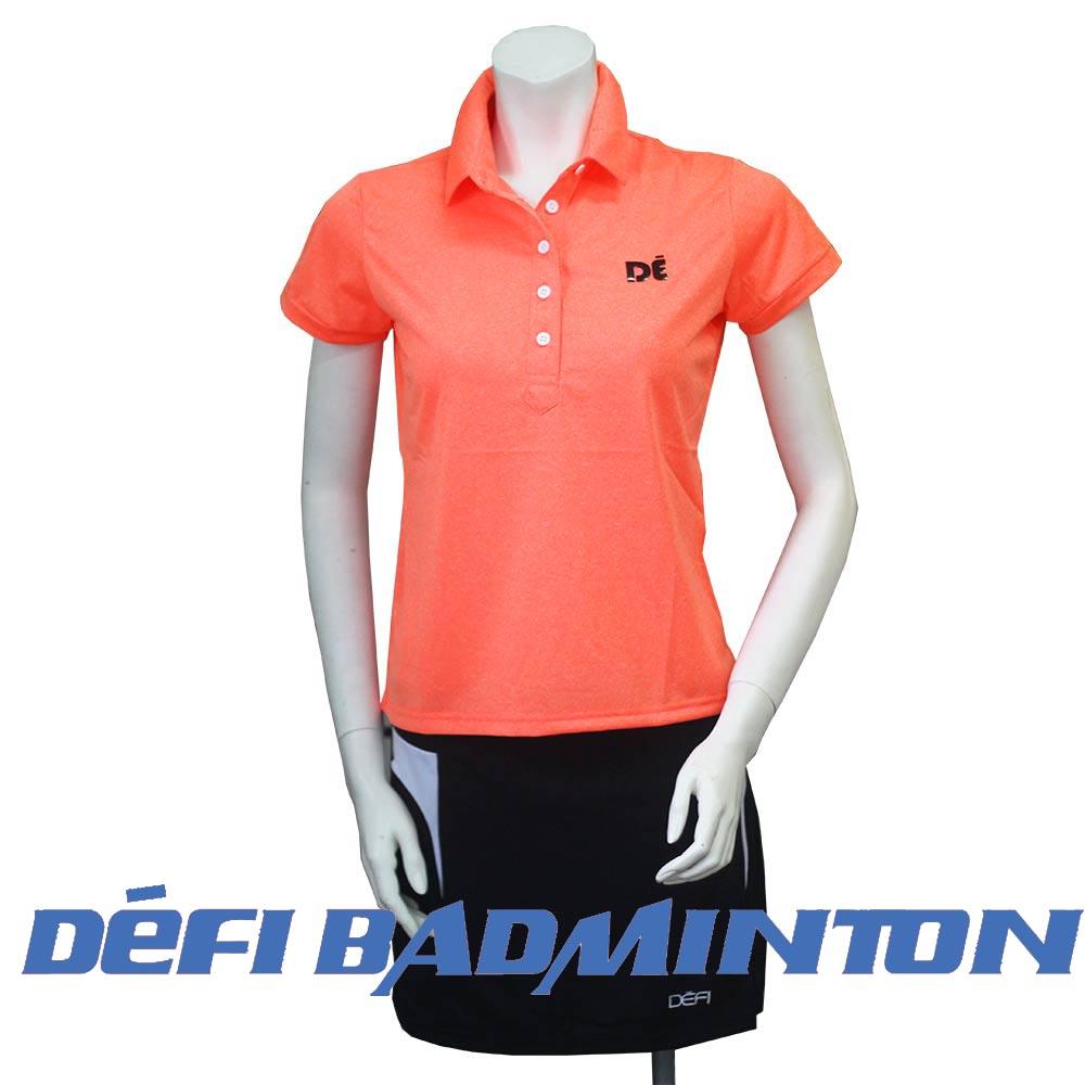 【DEFI 】FEA-C2 女款POLO衫 ( (亮橘色)