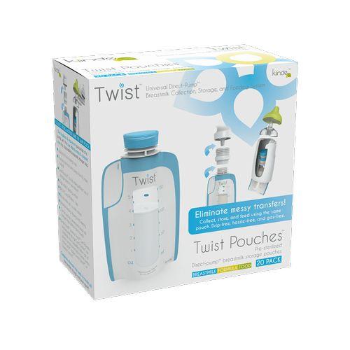 ★衛立兒生活館★Kiinde 美國第一熱銷萬用Twist 多功能母乳儲存袋180cc-20入