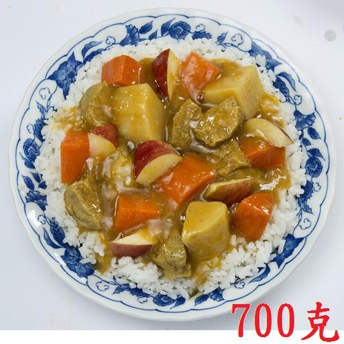 【蓮華生素食坊】蘋果咖哩燴飯 調理包 700g/包