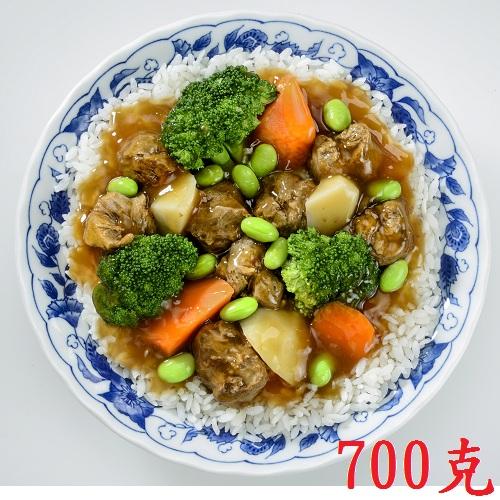 【蓮華生素食坊】紅燒素牛腩燴飯 調理包 700g/包