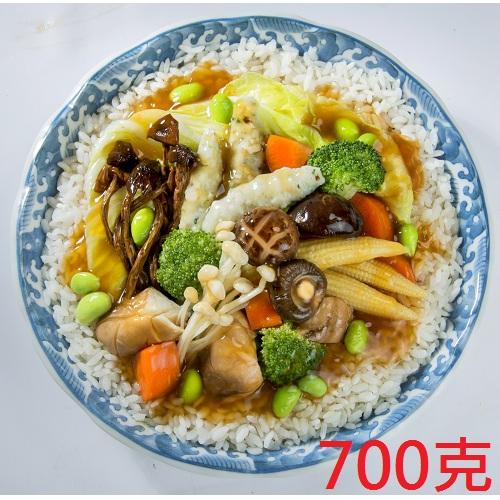 【蓮華生素食坊】鮮菇蔬菜燴飯 調理包 700g/包