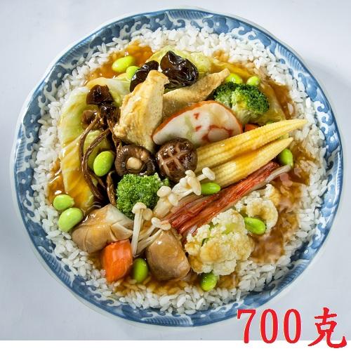 【蓮華生素食坊】羅漢齋燴飯 調理包 700g/包