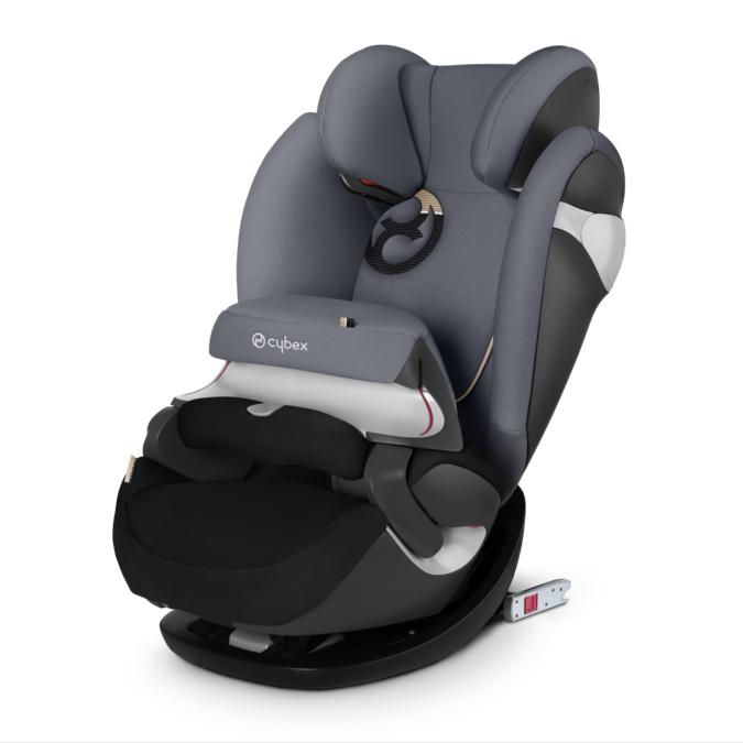 德國【Cybex】Pallas M-FIX 汽車安全座椅 (9個月~12歲) -深灰色