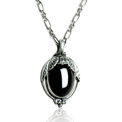 《十九號二手屋》台南二手精品 喬治傑生 Georg Jensen 2010年度寶石項鍊 『黑瑪瑙』