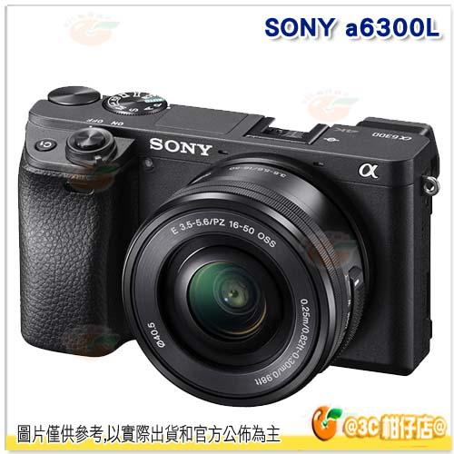 送32G記憶卡 SONY A6300L ILCE-6300L 16-50mm 鏡頭 變焦鏡 台灣索尼公司貨18+6個月保固 A6000 下一代