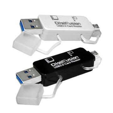 伽利略 RU055 USB3.0 Micro USB/USB 雙介面 OTG 讀卡機