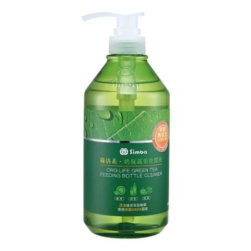 【奇買親子購物網】小獅王辛巴simba綠活系奶瓶蔬果洗潔液