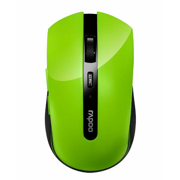 ★綠G能★電腦配備★ Rapoo 雷柏7200P-綠 5G無線光學滑鼠