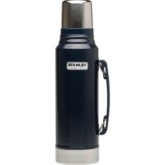 【鄉野情戶外專業】 Stanley  美國  Stanley 經典真空保溫瓶 1L-藍 10-01254