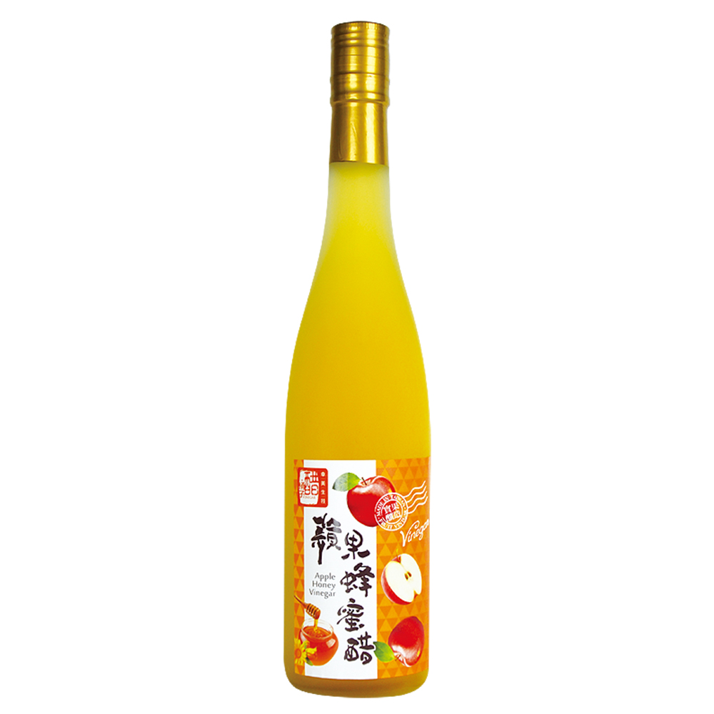【醋桶子加價購專區】三年熟成蘋果蜂蜜醋(600ml)免運,本商品不得獨立下單,不得超商取貨