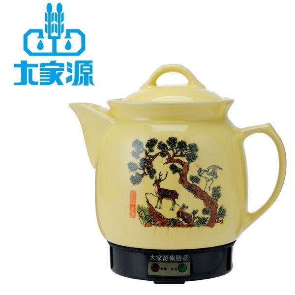 【大家源】3.5L陶瓷藥膳壼/TCY-323