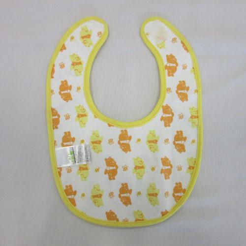 【百倉日本舖】迪士尼兒童圍兜-小熊維尼