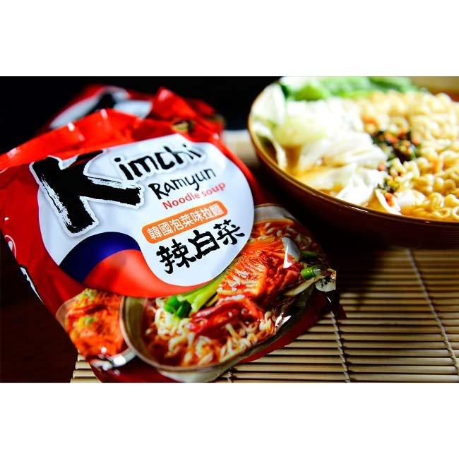 有樂町進口食品 韓國泡麵 農心韓國泡菜味拉麵 單包 韓國原裝泡麵 口味獨特,麵條Q而不爛 嚼勁十足,湯頭也超夠味