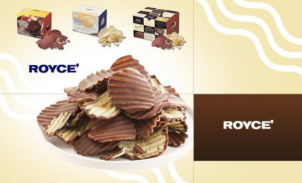 日本商品代購-ROYCE 洋芋巧克力片