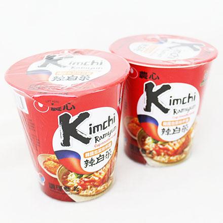 【敵富朗超巿】農心韓國泡菜味杯麵