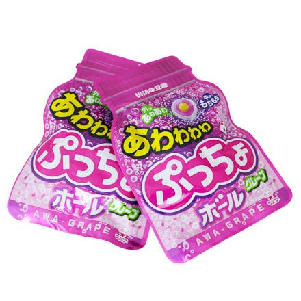 【敵富朗超巿】UHA味覺糖 噗啾葡萄糖(袋裝) 29g