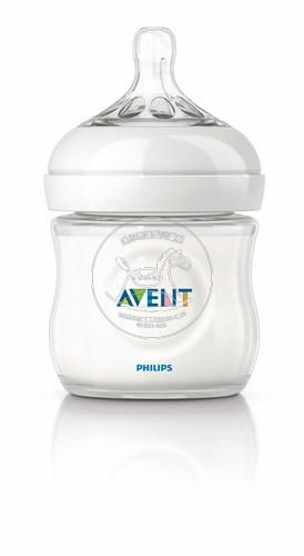 【迷你馬】PHILIPS AVENT 親乳感PP防脹氣奶瓶(125ml/4oz)-單入 E65A099001