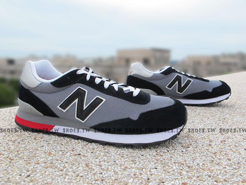 [29cm]《超值6折》Shoestw【ML515CCC】NEW BALANCE NB515 復古慢跑鞋 灰黑 男款