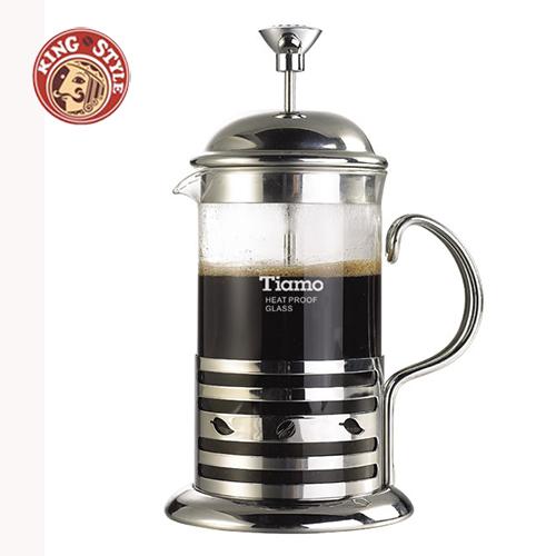 【Tiamo】新歐風濾壓壺350ml /2杯份