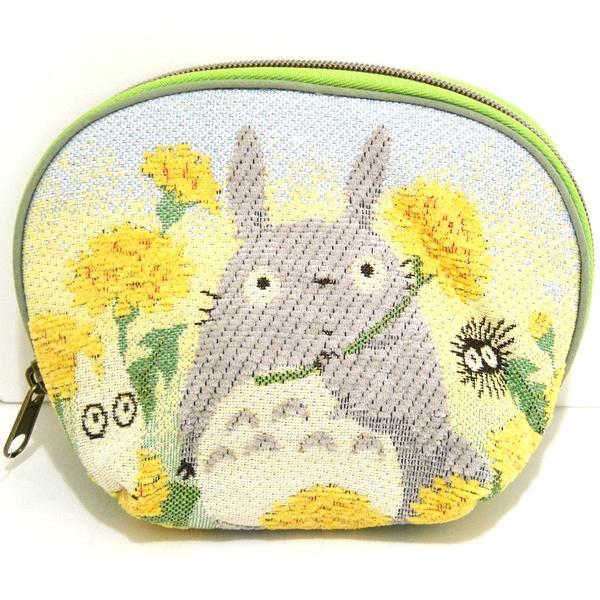 【真愛日本】16070600061戈布蘭織化妝包-蒲公英  龍貓 TOTORO 豆豆龍 化妝包 收納包 預購