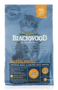 WDJ推薦 Blackwood 柏萊富天然寵糧 特調幼貓成長配方(雞肉+糙米) 1LB/1磅