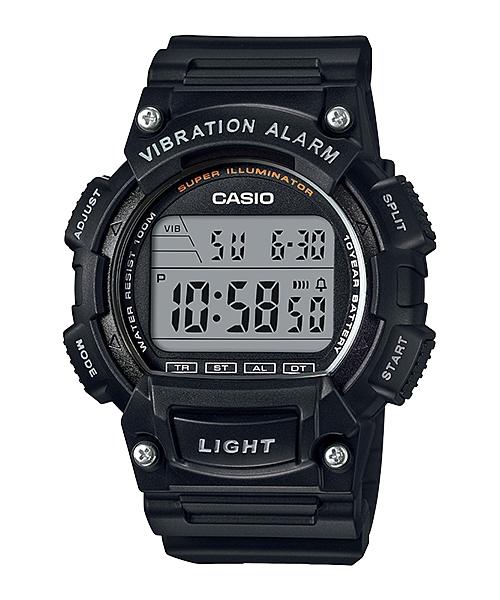 CASIO G-SHOCK W-736H-1A 數位10年電力腕錶/黑47mm