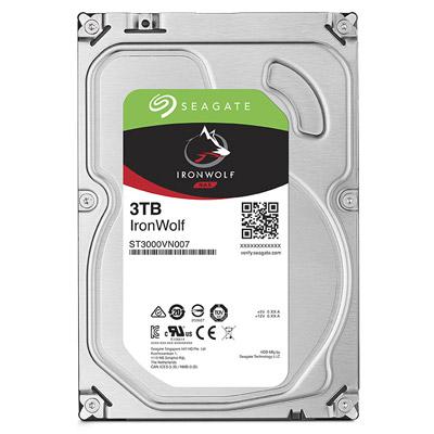 【綠蔭-全店免運】Seagate IronWolf 3.5吋 3TB NAS專用硬碟 (NAS HDD)