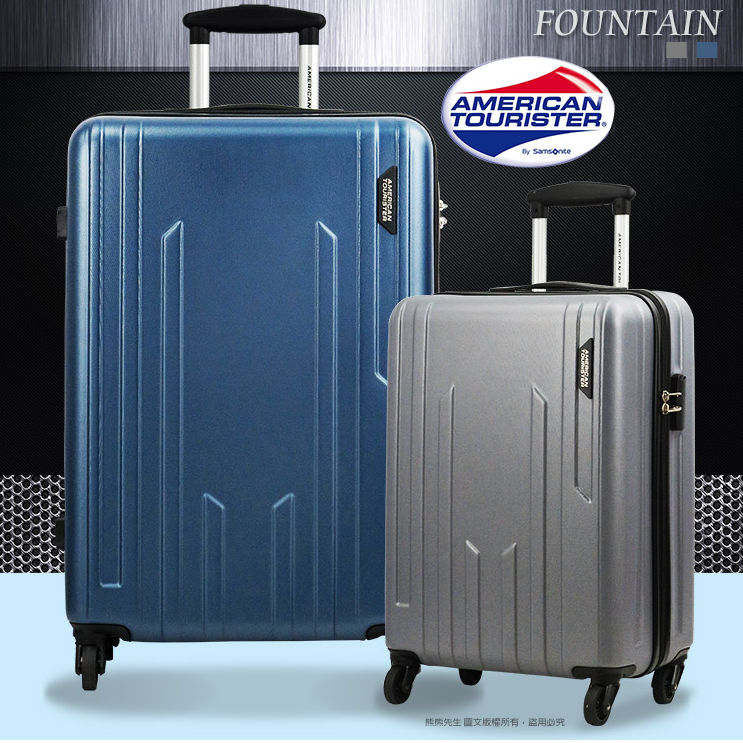 《熊熊先生》Samsonite新秀麗美國旅行者推薦款 24吋 行李箱旅行箱 BG2