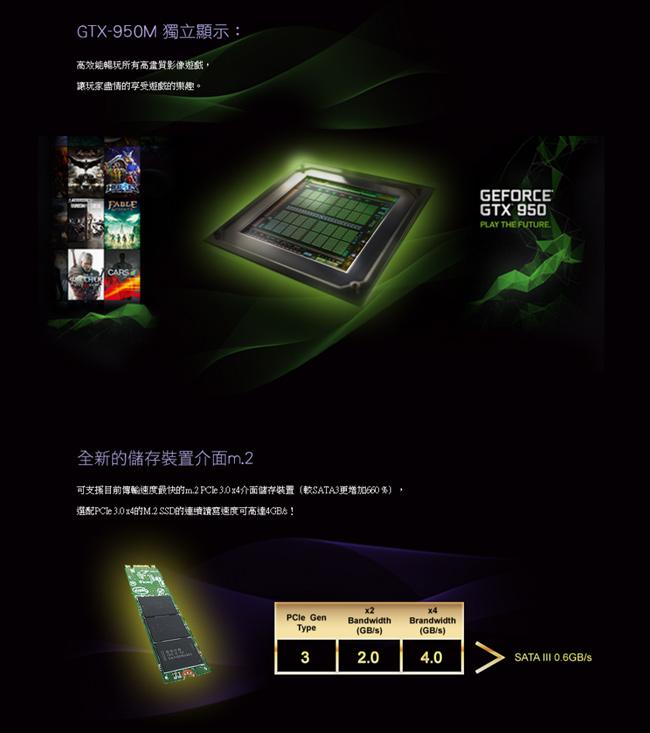 CJSCOPE QX-350 迷漾紫 全新六代I7 顯卡GTX-950M 250GB M.2 SSD 價錢合理