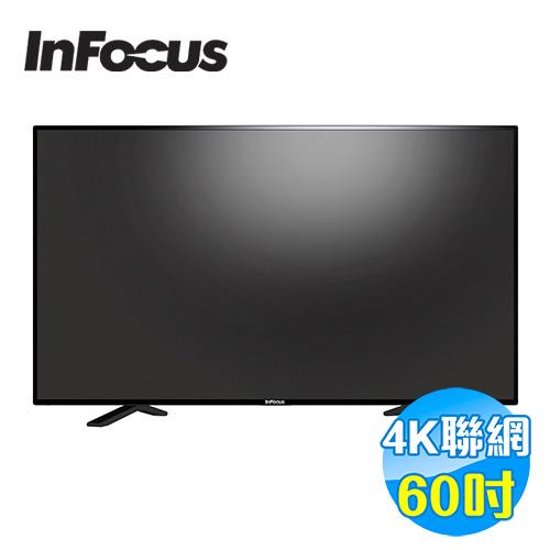 鴻海 INFOCUS 60吋 4KUHD連網液晶顯示器 FT-60CA601