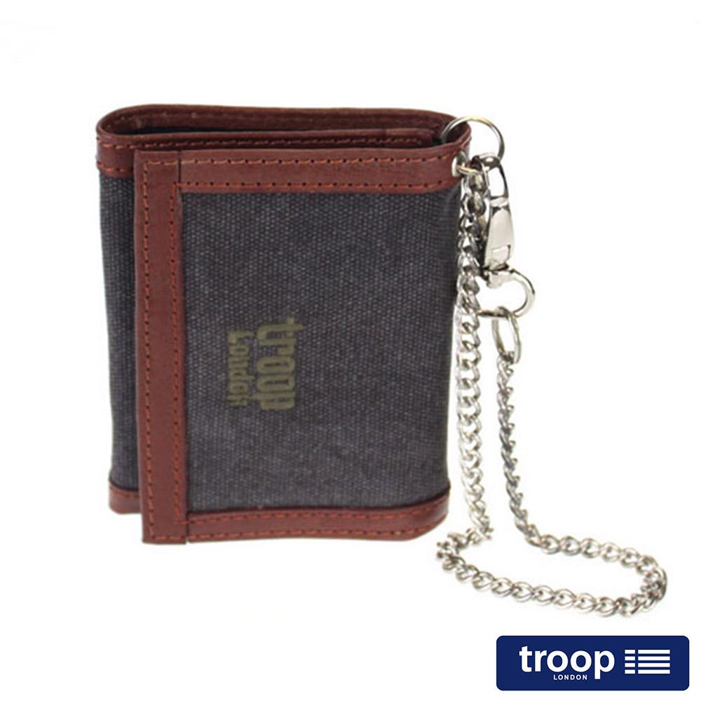 【TROOP】經典品格CLASSIC皮夾、零錢包/TRP0347BK