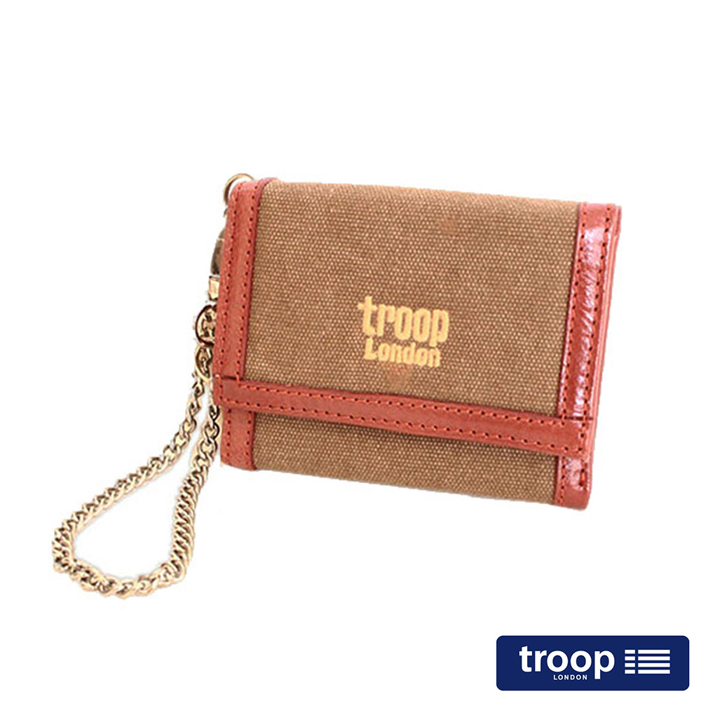 【TROOP】經典品格CLASSIC皮夾、零錢包/TRP0347BN