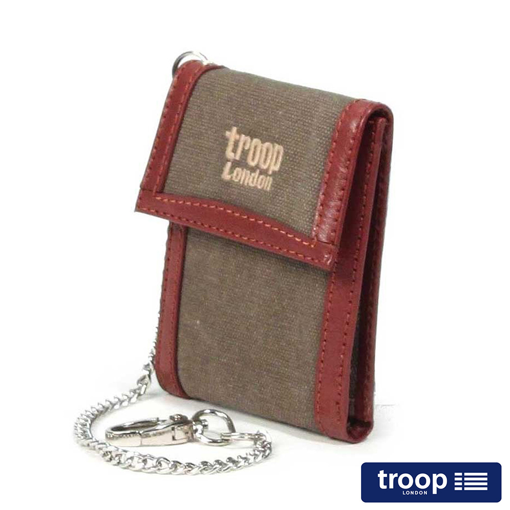 【TROOP】經典品格CLASSIC皮夾、零錢包/TRP0348BN