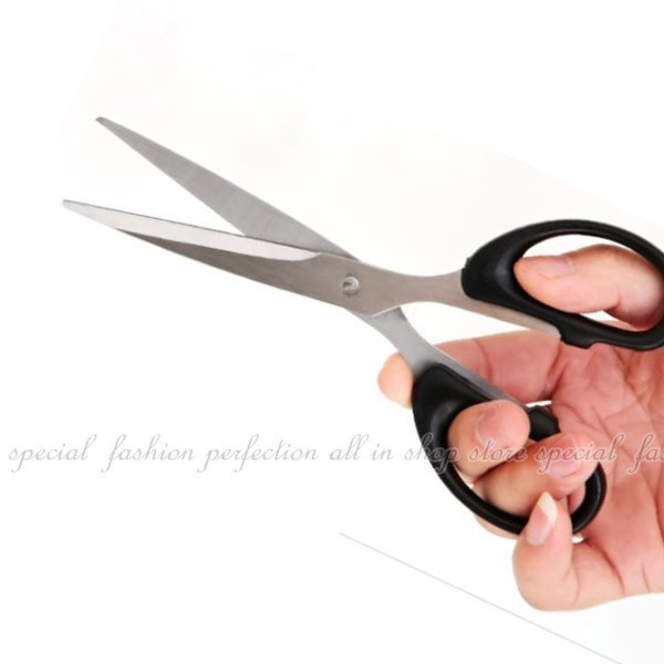剪刀 F160 事務用剪 不銹鋼家用辦公用剪刀【DB327】◎123便利屋◎
