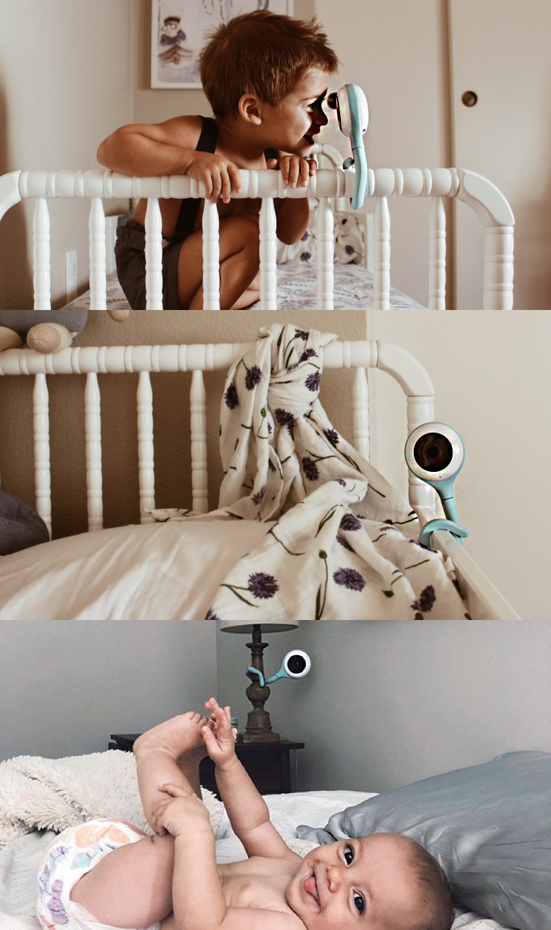 【Lollipop】 Smart Baby Camera 智慧型幼兒監視器-3色