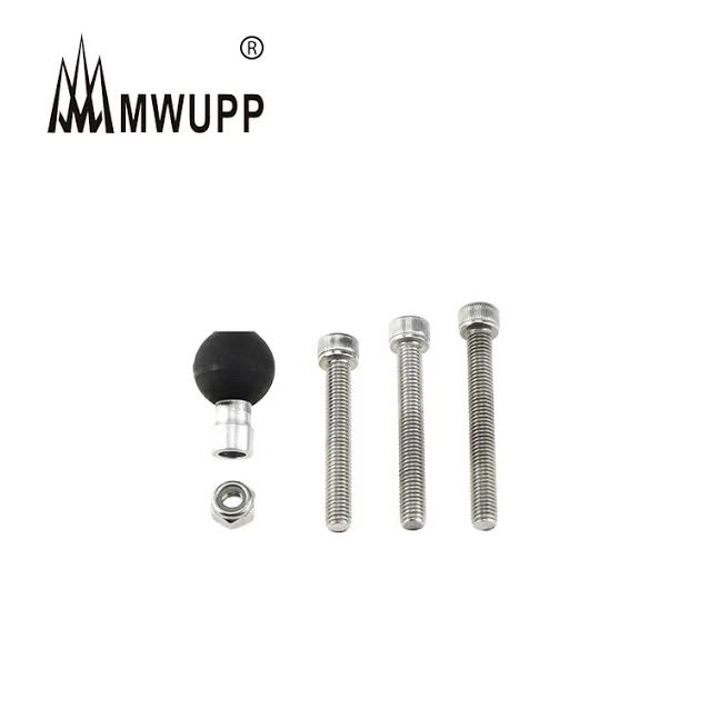 MWUPP 五匹 GOGORO 支架 配件 摩托車手機固定底座 球頭底座 球頭 街車 支架 非RAM