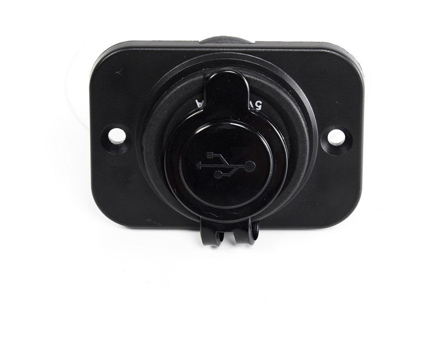 雙USB 車充 單孔固定板 整合 USB 12V 速可達 行動電源 環島 機車 充電 防水 豐田 三菱 日產 鈴木