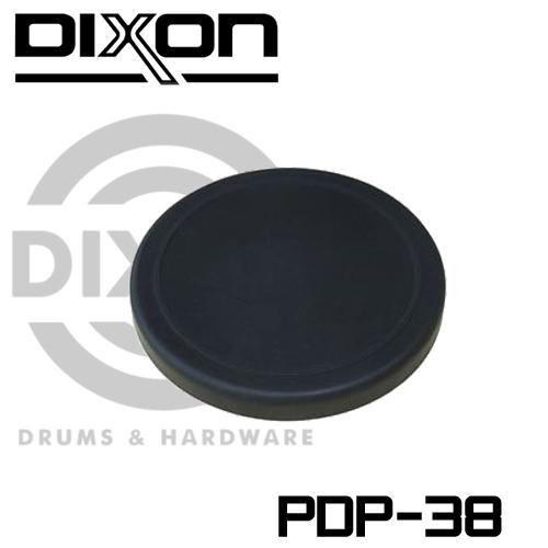【非凡樂器】DIXON 黑色素面橡膠打點板【PDP-38】彈力佳