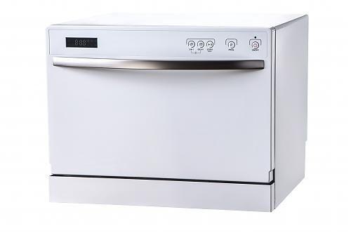 FDW-5003T 美國富及第桌上型智慧洗碗機 白色【送洗碗粉1000g*3+亮碟劑500mI*2】