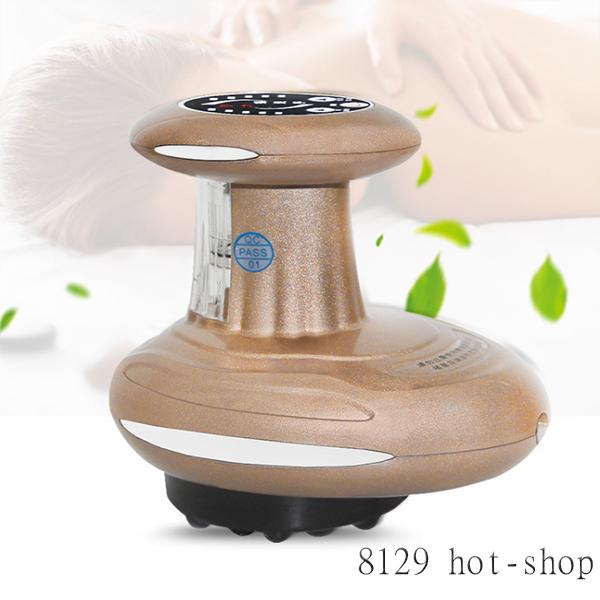 SPA【電動按摩五行疏通刮痧器】古羅馬 精油 刮痧棒 養身 休息 傳統 身體 皮膚 物理 刺激 8129 HOT SHOP CS0270