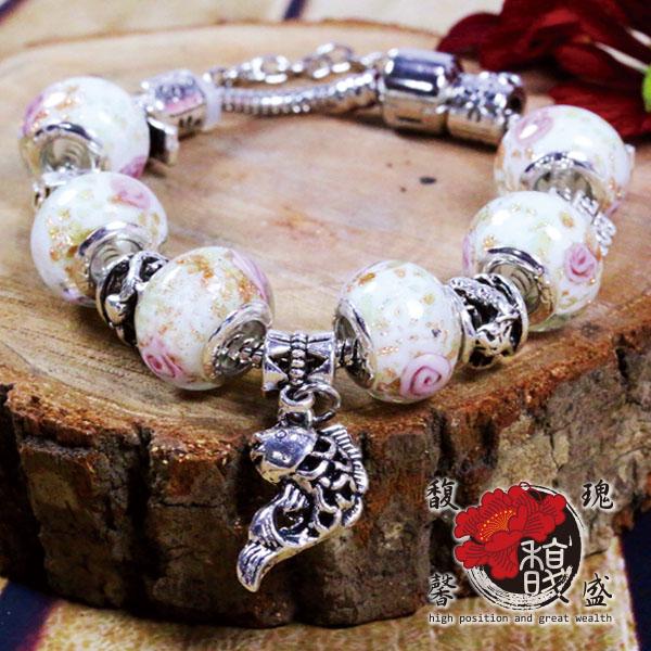 鍍膜 電鍍 珠寶 琉璃珠 施華 潘朵 Pando 含開光 馥瑰馨盛